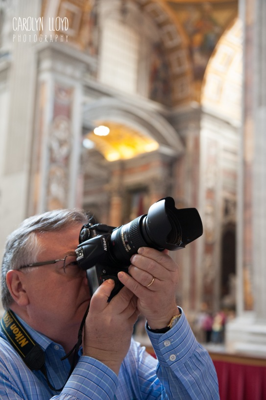 My father, the reason I picked up a camera.