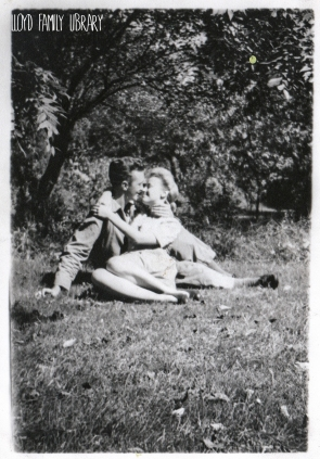 My maternal grandparents, so deeply in love!