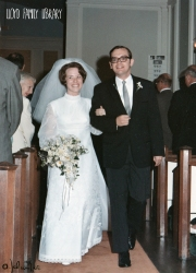My parents at their wedding!